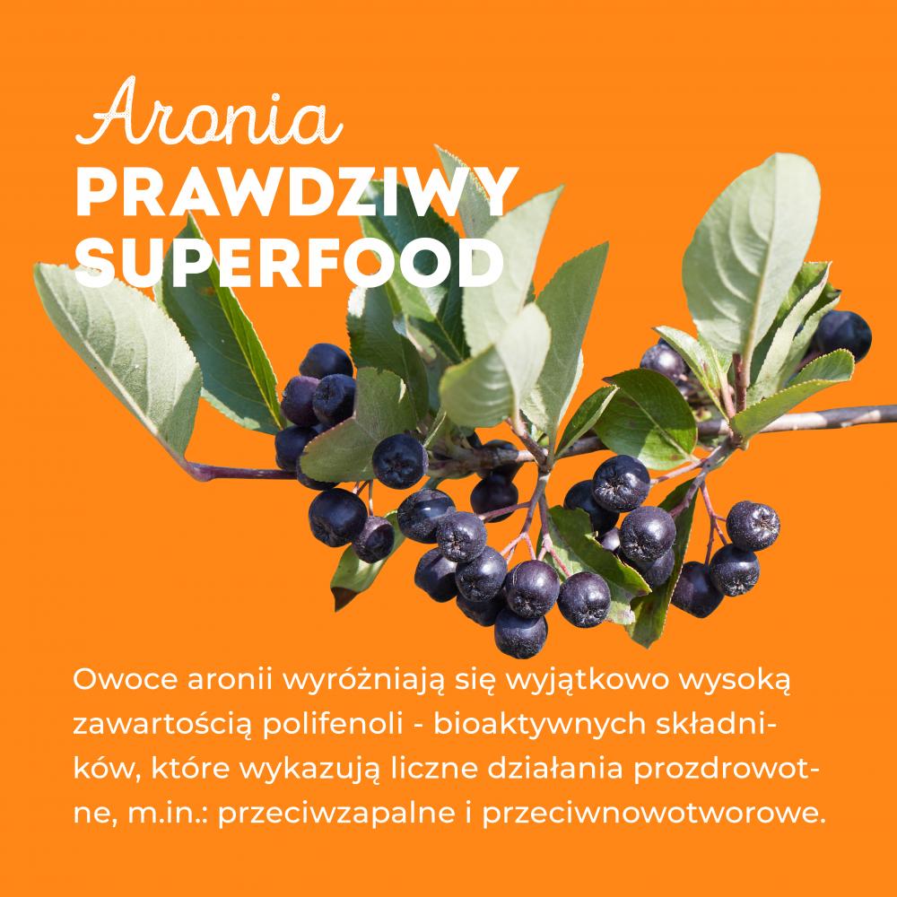 Aronia - prawdziwy superfood - grafika